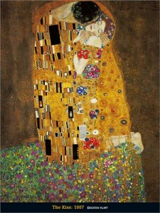 L'ascension à Vienne  dans Le chat en vadrouille klimt-gustav-the-kiss-8300084-225x300